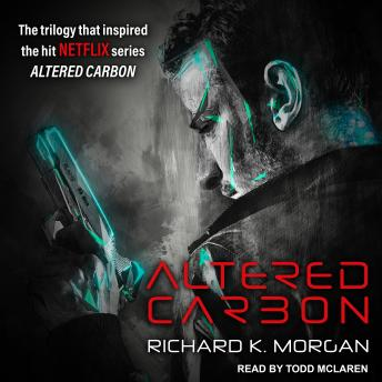 Cover art from Altered Carbon by Richard K Morgan