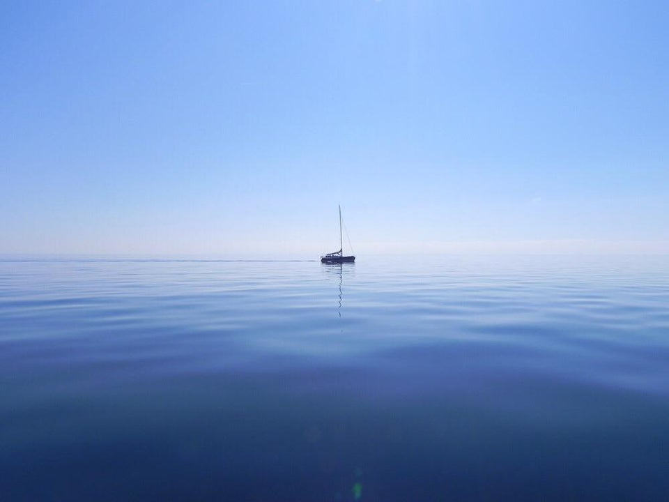 sailboat in the doldrums